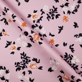 Ungaro album floral print on stretch piquet