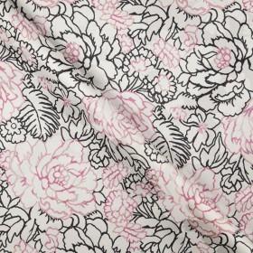 Ungaro album floral print on damask cotton