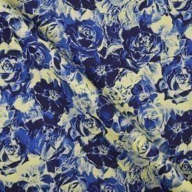 Ungaro album floral print on stretch cady