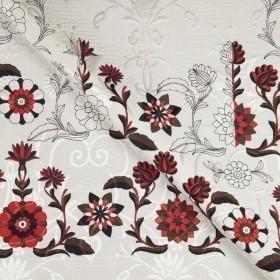 Ungaro album print on ornamental matelassé