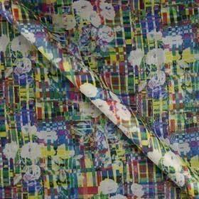 Ungaro album print on lurex checked fil coupé