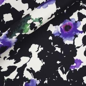 Ungaro album floral print on marocain