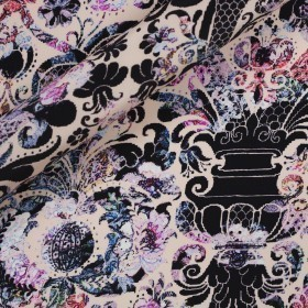 Ungaro Album ornamental print on matte satin