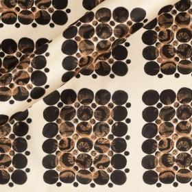 Ungaro Album print on satin fabric