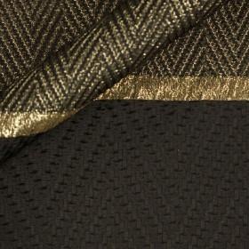 Ungaro Album chevron coat fabric with border
