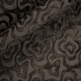 Ungaro Album devorè print on velvet fabric