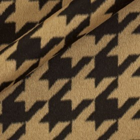 Carnet Couture baby lama jacquard pied de poule fabric