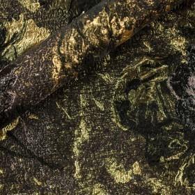 Matelassé floreale jacquard lurex