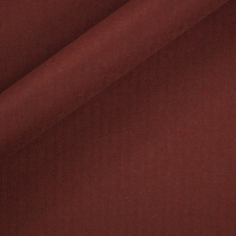 Carnet Style pure wool chevron fabric - Carnet