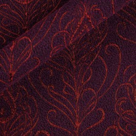 Carnet Style jacquard bouclè coat fabric