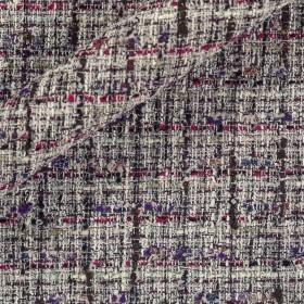 Carnet Style fancy lurex bouclè fabric