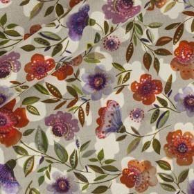 Floral printed fil coupè