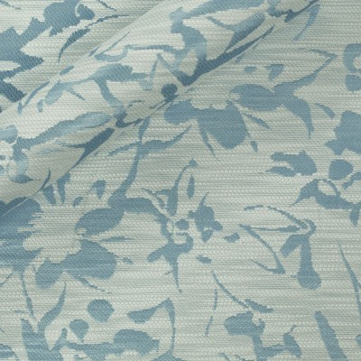 Floral double face jacquard