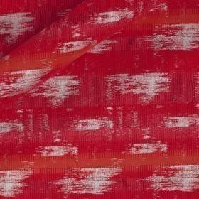False plain jacquard fabric