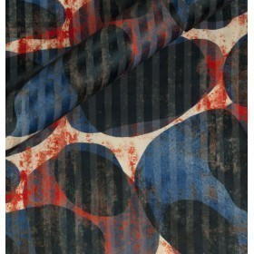 Abstract design print fabric