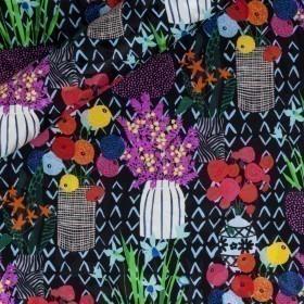 Micro floral pattern print