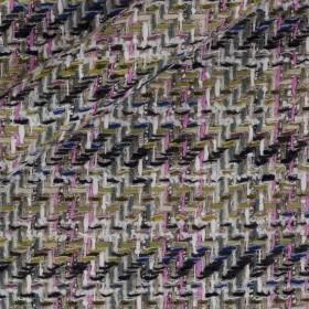 Multicolor lurex Bouclè
