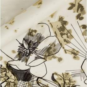 Printed lurex fil coupè, panel h 140 cm