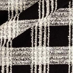 Tartan fabric for coat