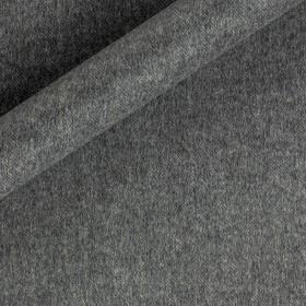 Melange angora wool fabric