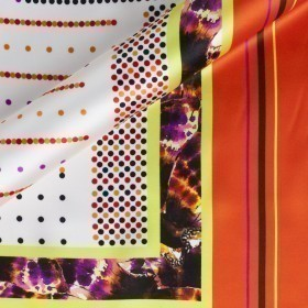 Fancy pattern printed fabric