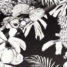 Tropical printed fabric