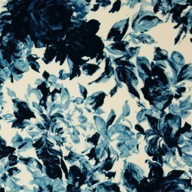 Floral print on lurex silk Ungaro album