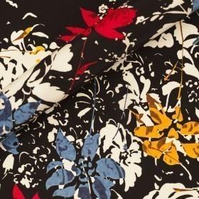 Ungaro album floral print on matte satin