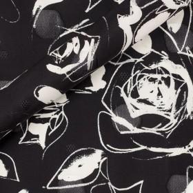 Ungaro album floral print on organza fil coupè