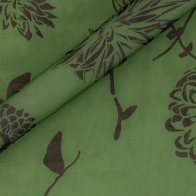 Ungaro album floral print on silk chiffon