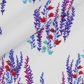 Carnet de mode print on jersey piquet