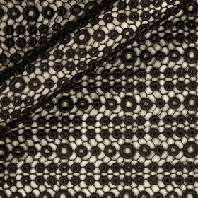 Ungaro Album geometric macramè fabric