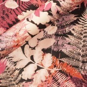 Ungaro Album print on mikado fabric