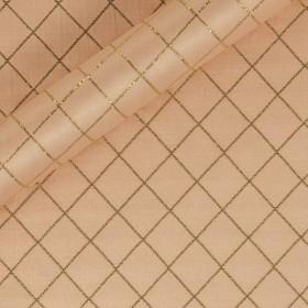 Ungaro Album geometric matelassè fabric with lurex