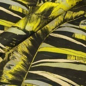 Carnet Style print on nigel silk fabric