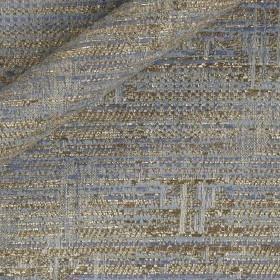 Fancy jacquard with lurex yarns