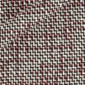 Micro pattern with woven yarns