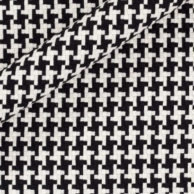 Double color fabric for overcoat