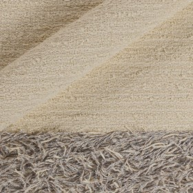 Fabric for overcoat with lurex