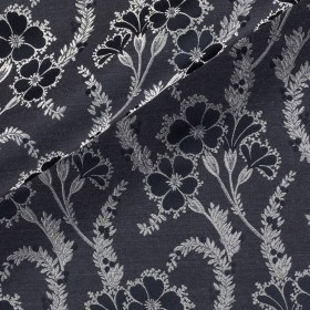 Wool flannel jacquard