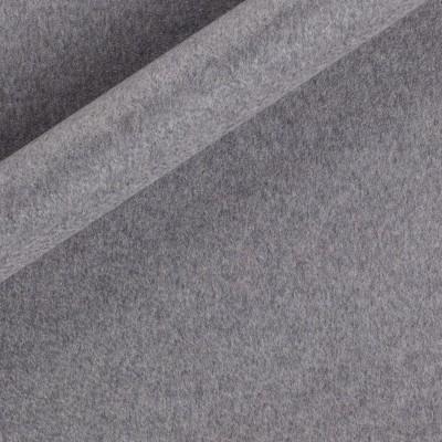 Plain color melange cashemere fabric