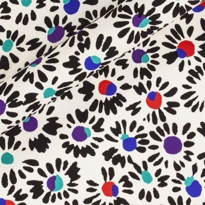 Abstract printed fabric