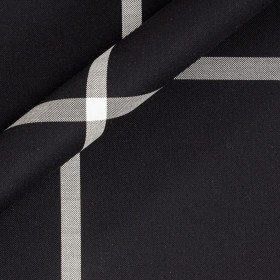 Check double fabric