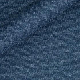Chevron in pura lana vergine e cotone
