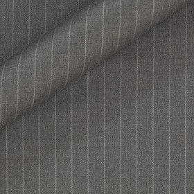 Pinstripe in pure virgin wool