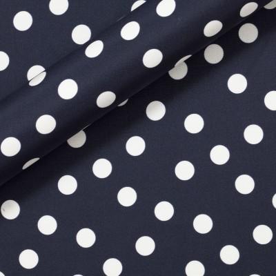 Polka dots on silk