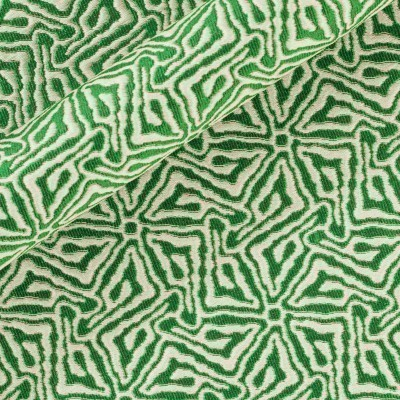 Jacquard with abstract pattern
