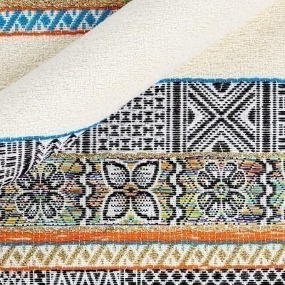 Multicolor yarn-dyed fabric