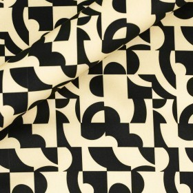 Abstract print on cotton