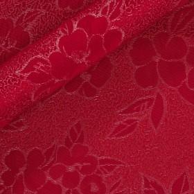 Matelassé with floral pattern